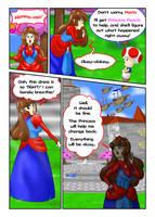 Princess Mario - Page Three by FieryJinx