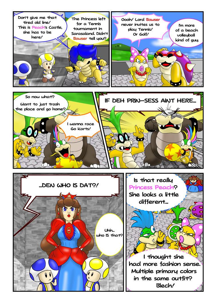Princess Mario - Page Seven by FieryJinx on DeviantArt