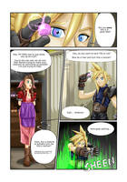 COMMISSION: Materia Girl - Page One by FieryJinx