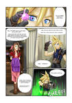 COMMISSION: Materia Girl - Page One
