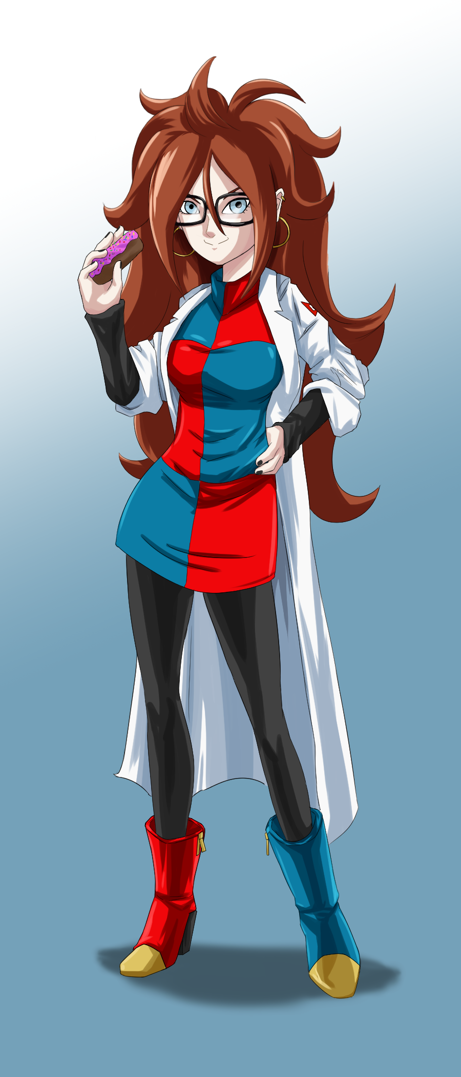 Android 21 by FieryJinx