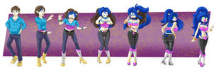 COMMISSION: Rougeified Sonic TG Sequence by FieryJinx