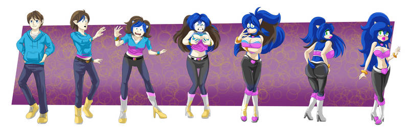 Sonic The Hedgehog Transformations On Sonicintoothers Deviantart
