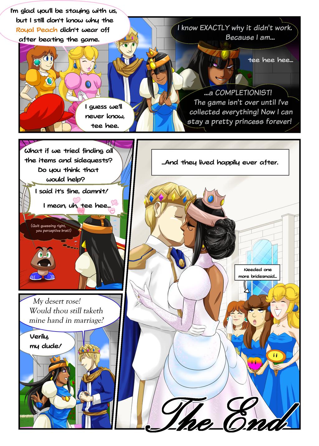 Princess Mario RPG - Page Seven by FieryJinx