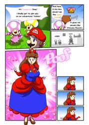 Princess Mario - Super Crown by FieryJinx