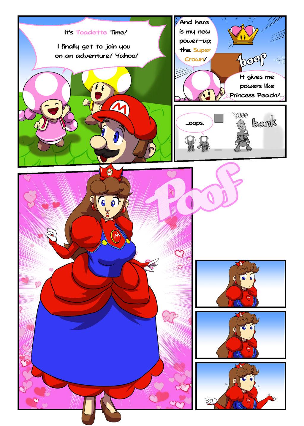 Princess Mario Super Crown By Fieryjinx On Deviantart