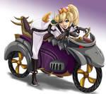 Bowsette for Mario Kart