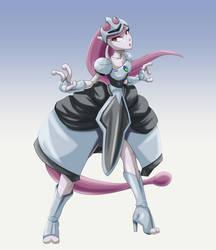 Princess Mewtwo by FieryJinx