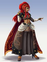Princess Ganondorf by FieryJinx