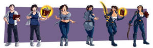 COMMISSION: Sandy Reswald TG Sequence