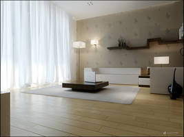 Interior design, living. by pressenter