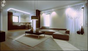 Interior design - living kitch