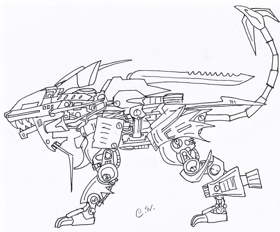 liger coloring pages - photo #46