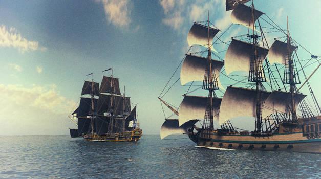 Ship Chase