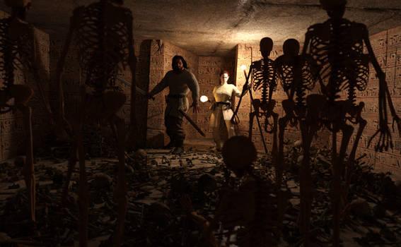 The Tomb Adventure Part II: The Bone Room