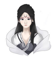 The Crane Maiden by Dominaiscna