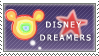 Disney Dreamers Stamp by ILoveHamHam