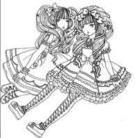 lolita gossip by DarkDevi