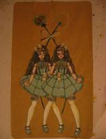 Dandelions by DarkDevi