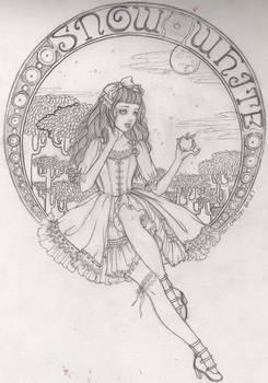 lolita snow white sketch