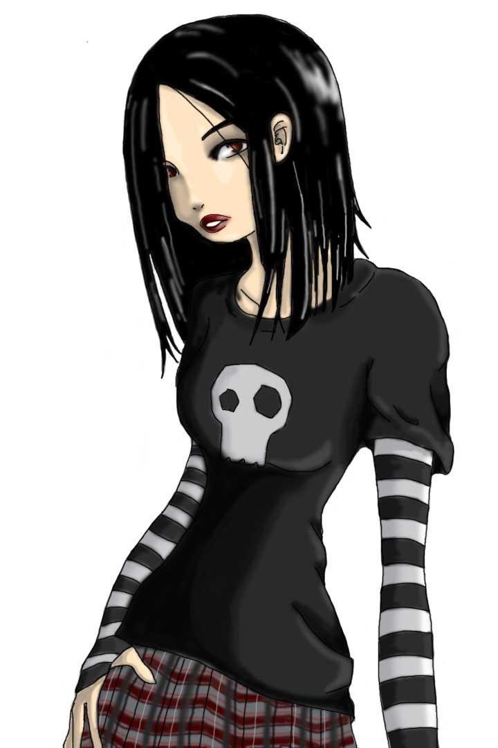 odd self drawing? by DarkDevi