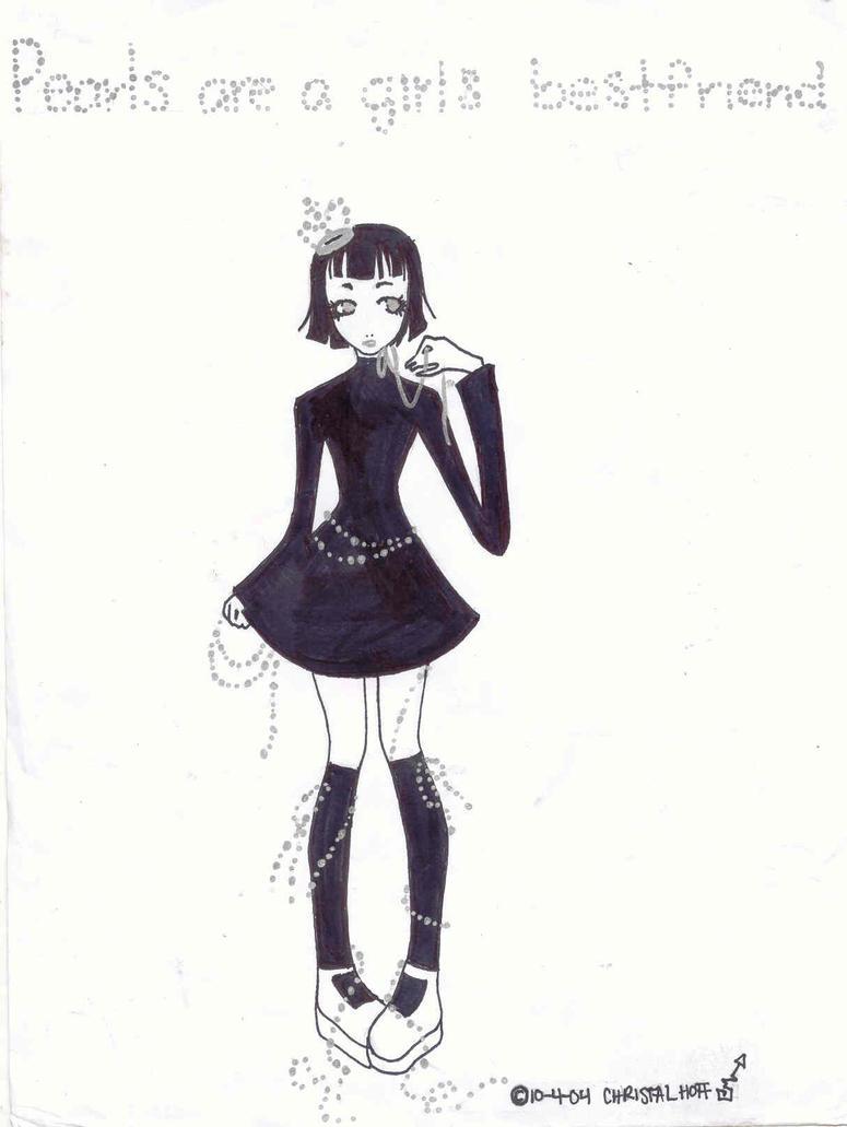 Pearls are a girls best friend by DarkDevi on DeviantArt