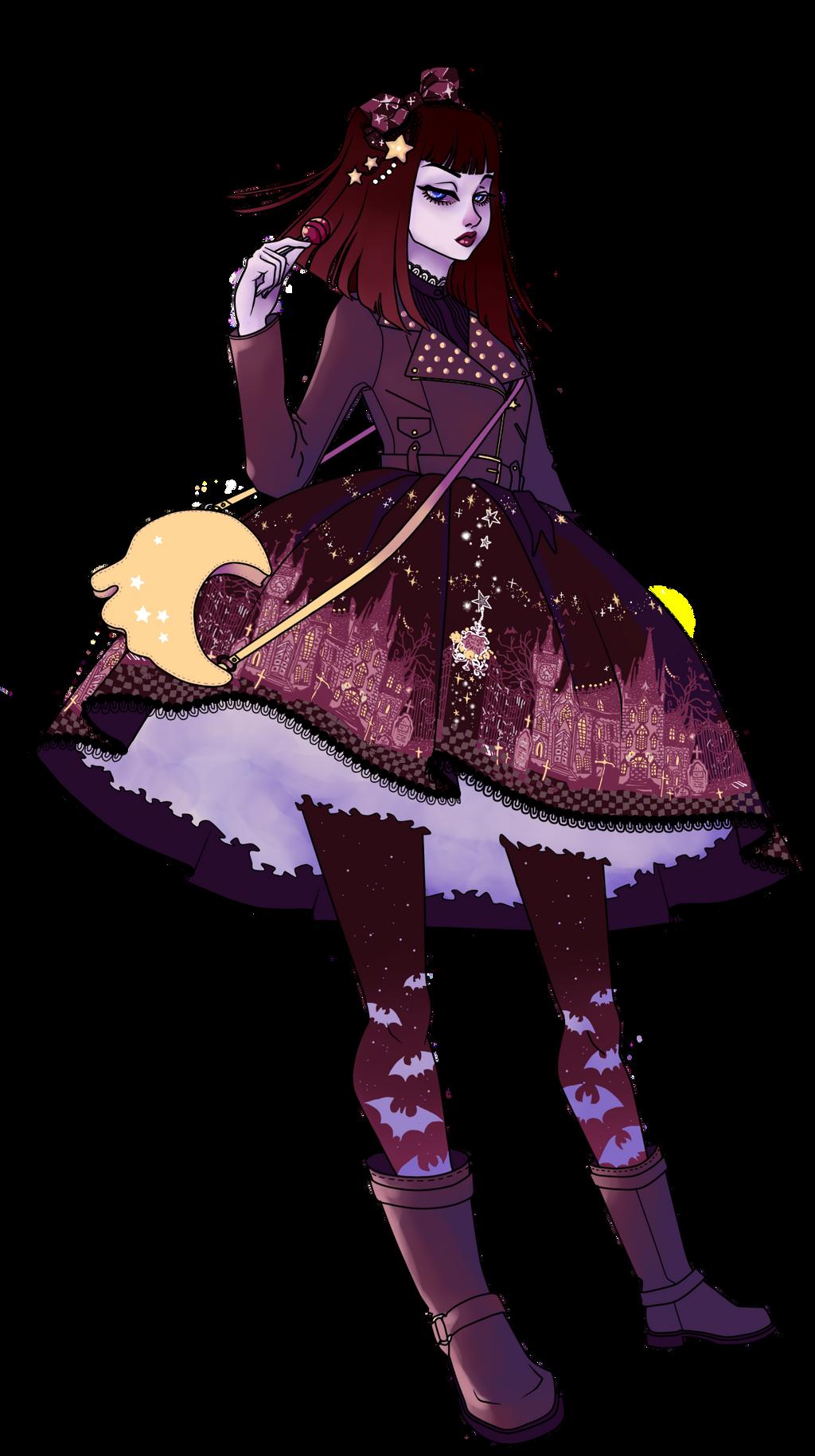 Satanic Princess Transparent by DarkDevi