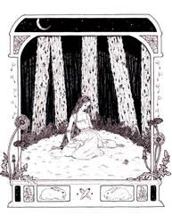 Elf princess and her bunnies by DarkDevi