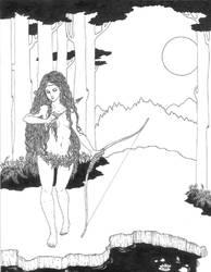 The Huntress (pre color)