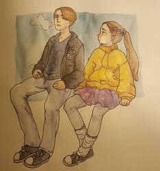 Hannah and Ulrich