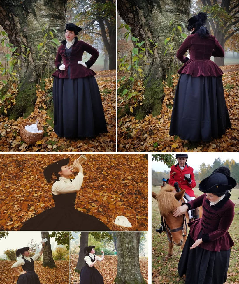 18th century riding habit by DarkDevi