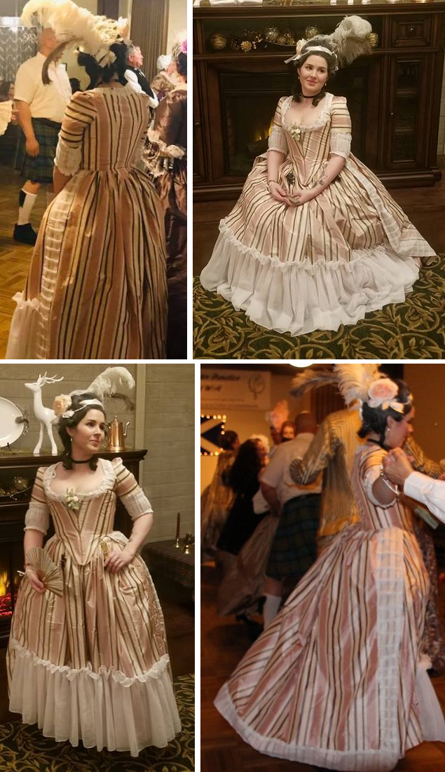 1780's Gown by DarkDevi