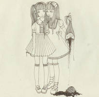 Just the two of us-Guro by DarkDevi
