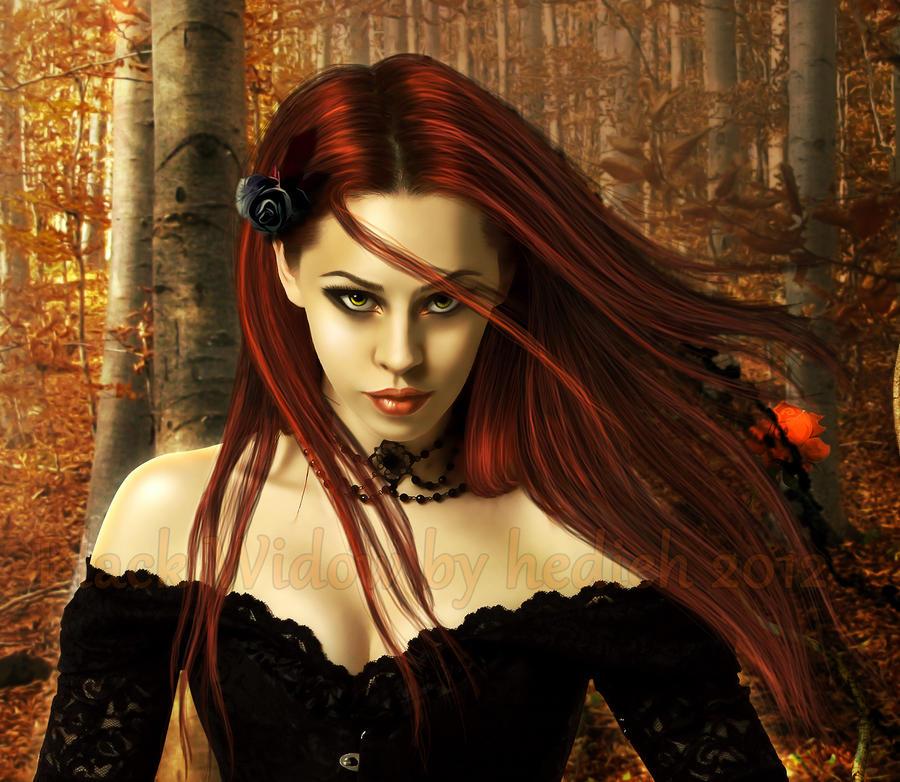Black Widow ... by shiny-shadows-Art