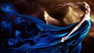 Dandelion Goddess by shiny-shadows-Art