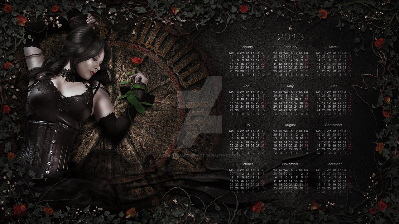 Calendar2013 by shiny-shadows-Art