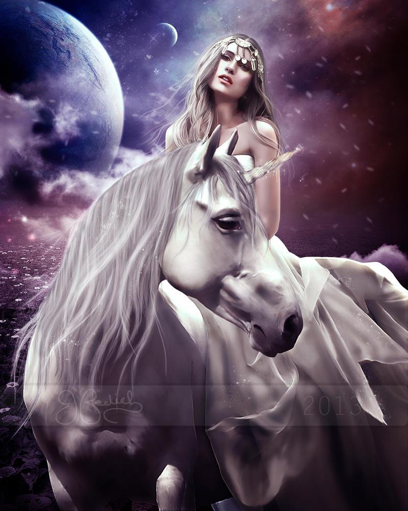 The last Unicorn by shiny-shadows-Art