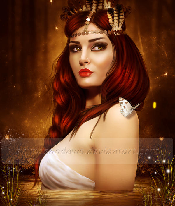 Pocahontas by shiny-shadows-Art