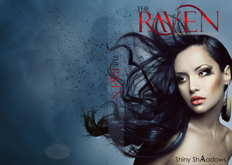 Book Cover Design Deviantart : The raven predesigned book cover by shiny shadows art on
