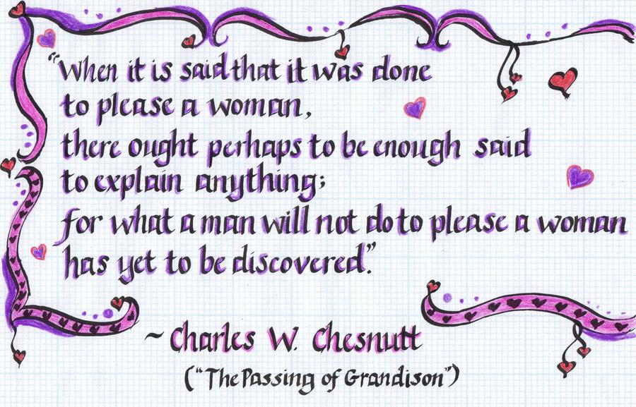 passing of grandison