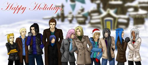 KH Happy Holidays by ryuchan