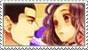 Susukihotaru x Riken stamp by ryuchan