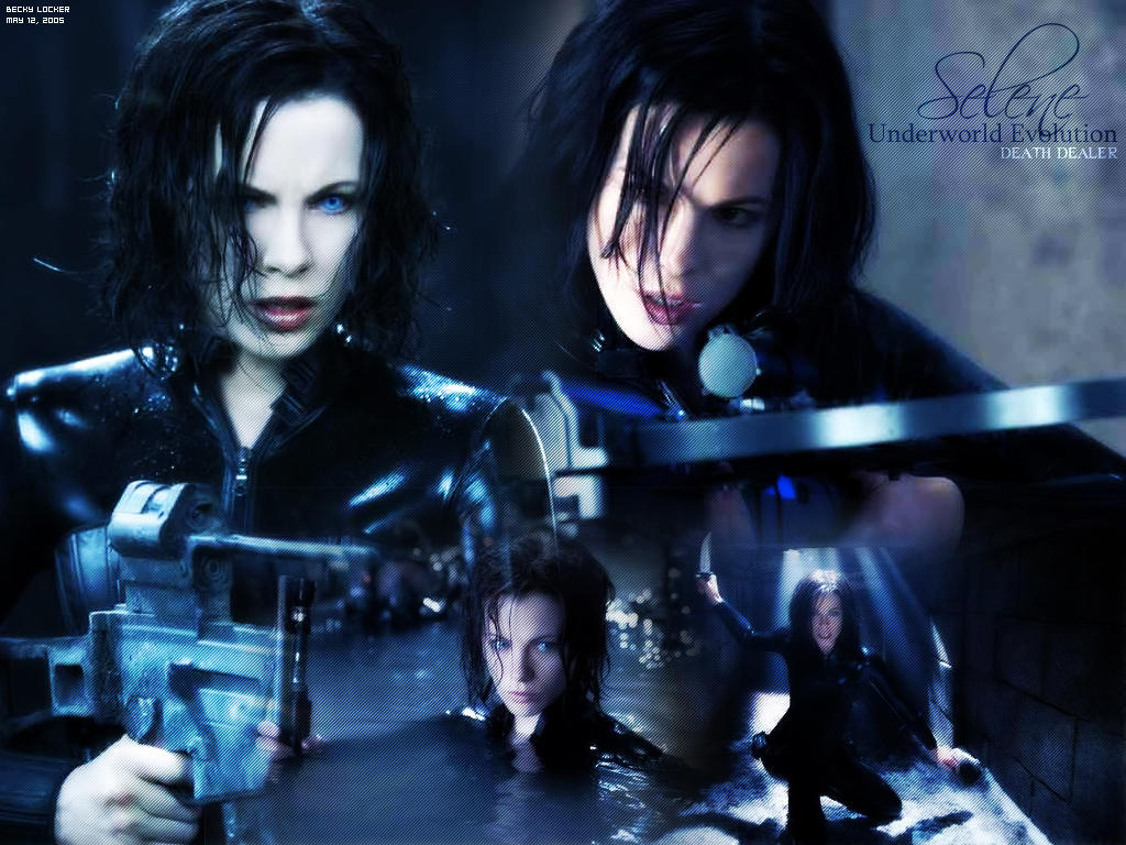 Underworld Selene And Sonja Underworld Wallpaper b...
