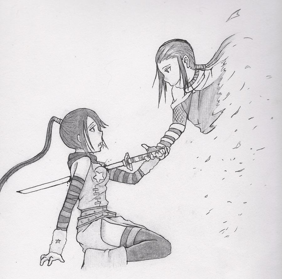 tsubaki and masamune by carlyFMA