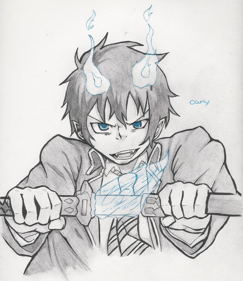 Blue Exorcist by carlyFMA