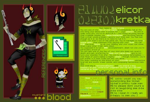 Elicor Ref Sheet