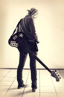me and my bass by Basistka