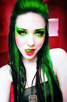 Green Queen by Basistka