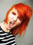 Orange girl by Basistka