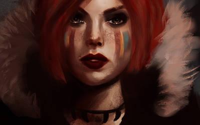 Redhead by Basistka